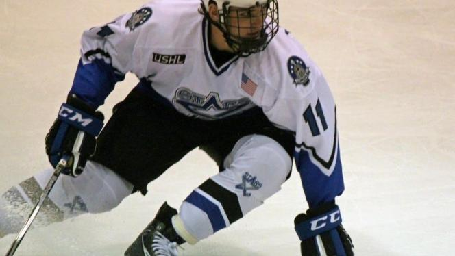 Former AJHL Player Attended NHL Rookie Camp