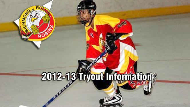 Richmond Robins Announce 2012-13 Tryout