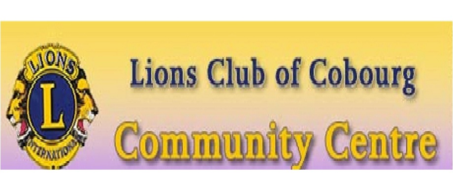 Cobourg Lion's Community Centre